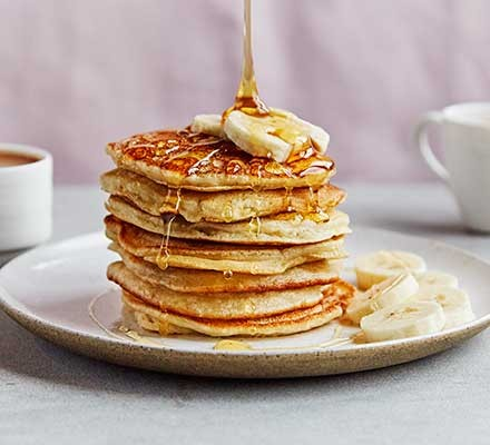 Seed and Almond Milk Pancakes