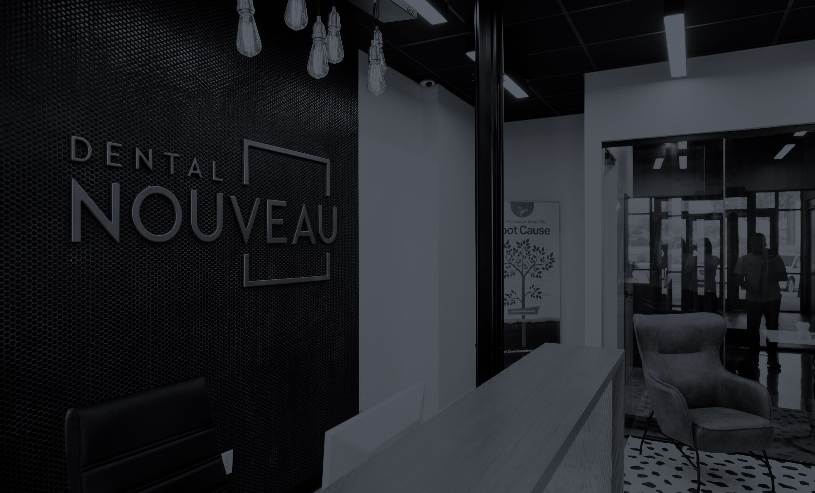 Photo of the lobby at Dental Nouveau in New Braunfels, Texas