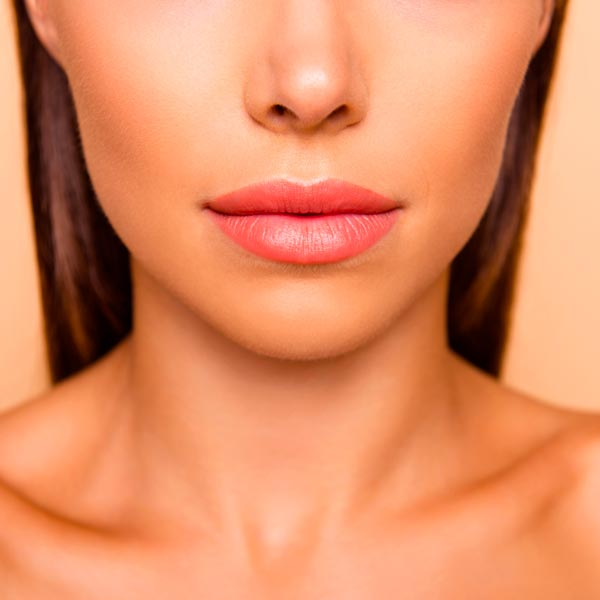 Lip enhancement on a woman in Chandler.