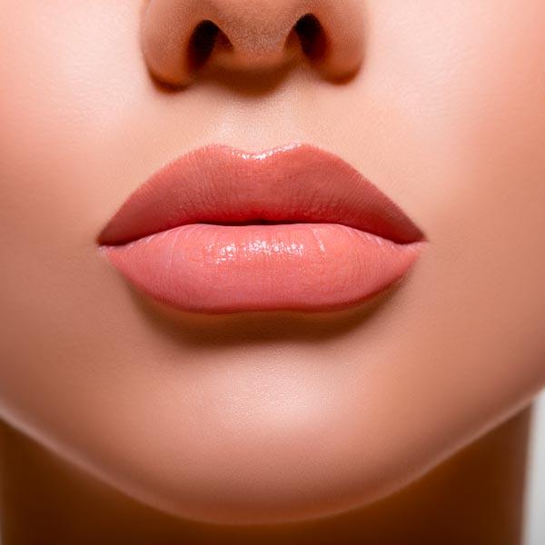 Beautiful volumed lips.