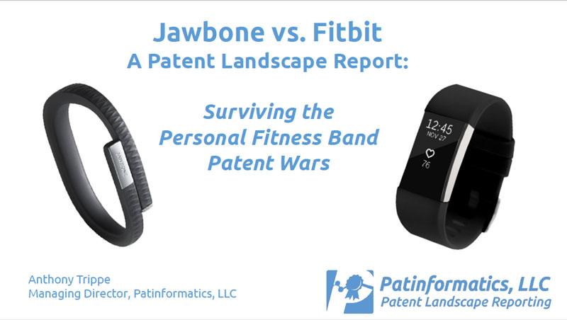 Jawbone vs. Fitbit Presentation Page.