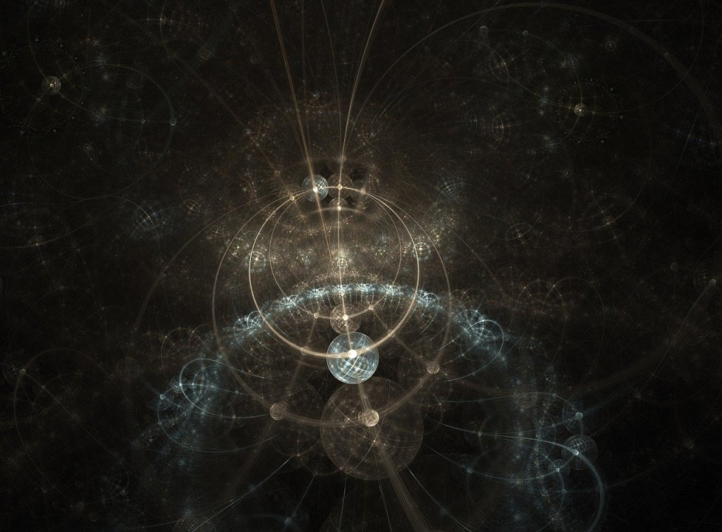 Quantum computation concept art