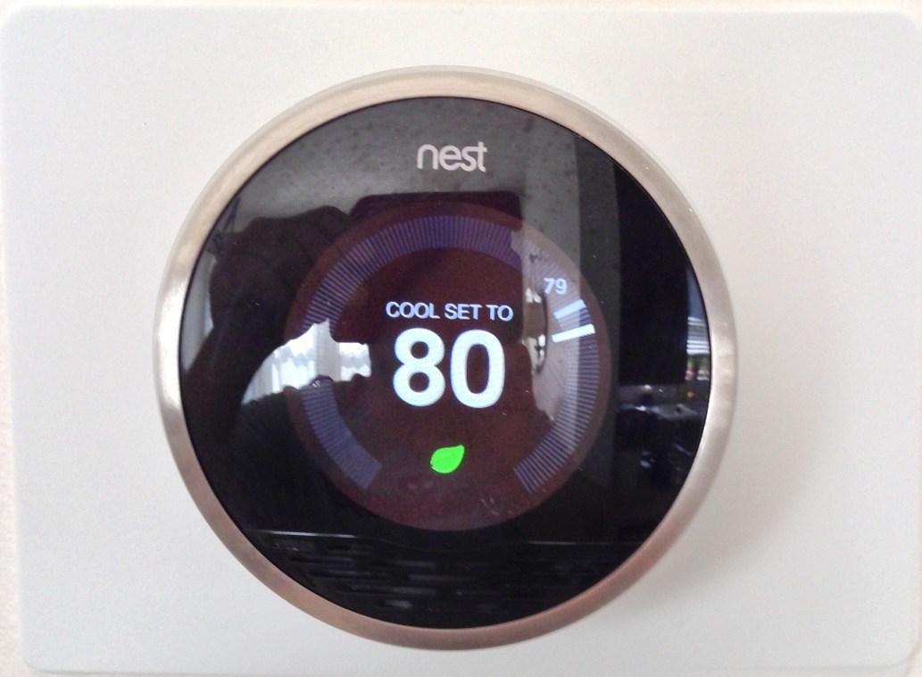 Nest temperature control device.