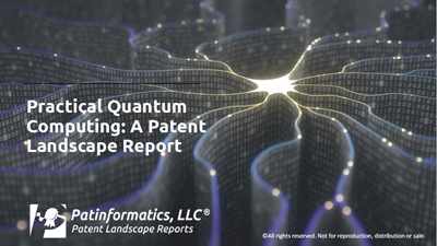 quantum computing applications, a patent landscape report