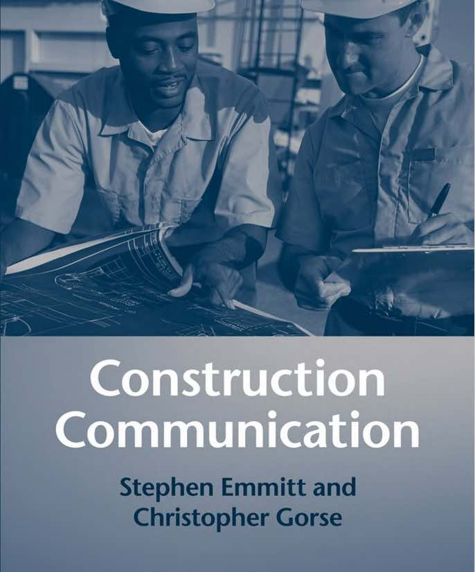 Cover of Communication in Construction Book