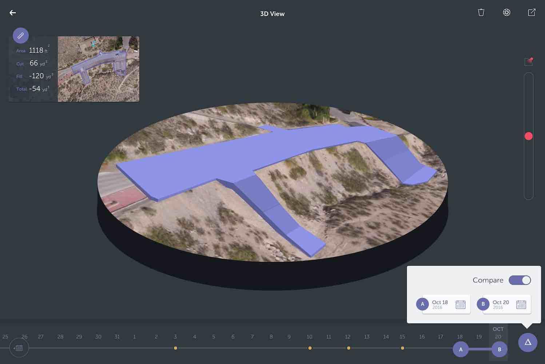screenshot of unearth's volume inspector