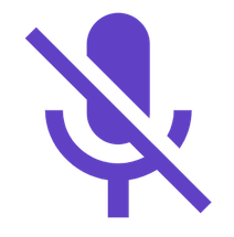 microphone off