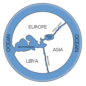 anaximander's map of the world