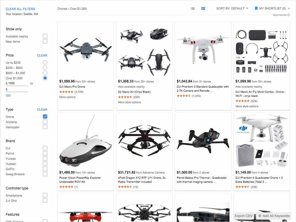 image of drone camera equipment