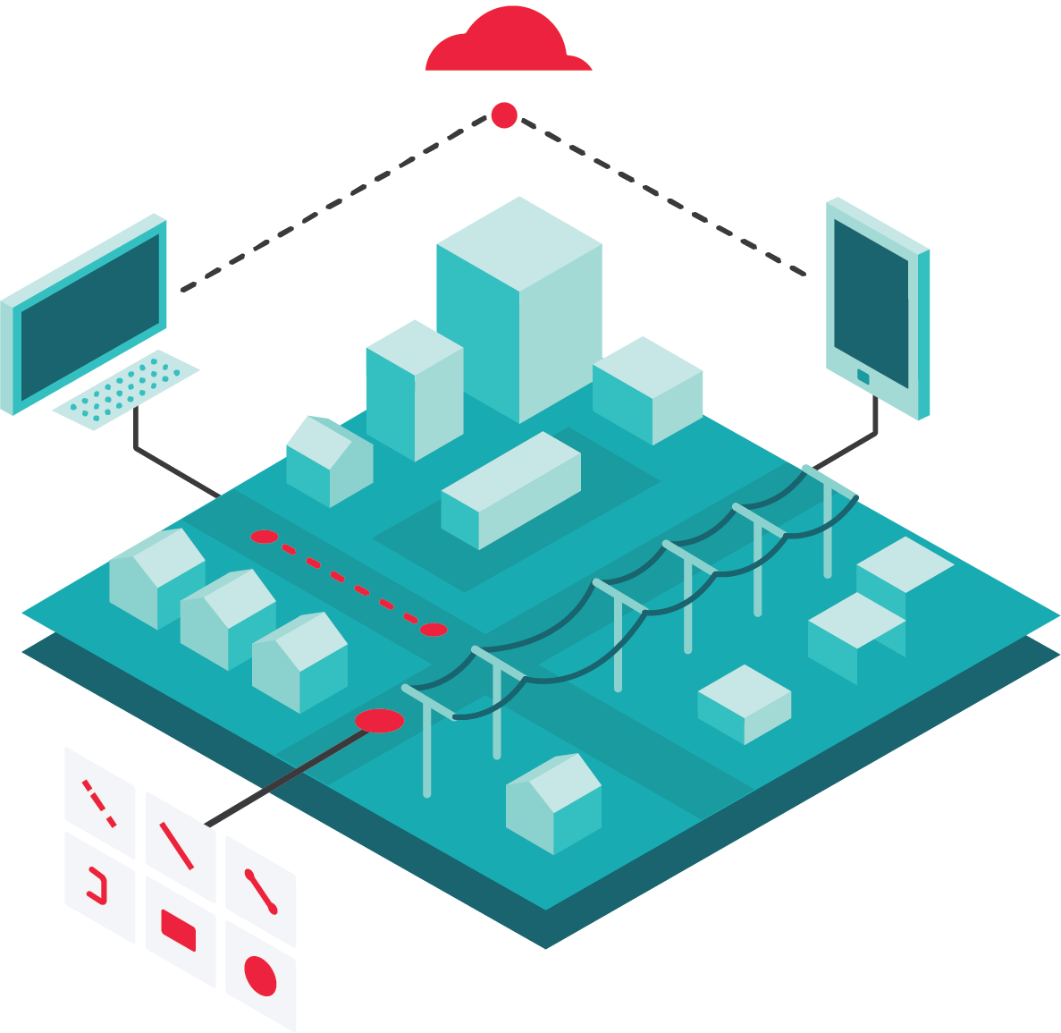 GIS for utility data management