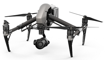 DJI Inspire 2 drone for movie making