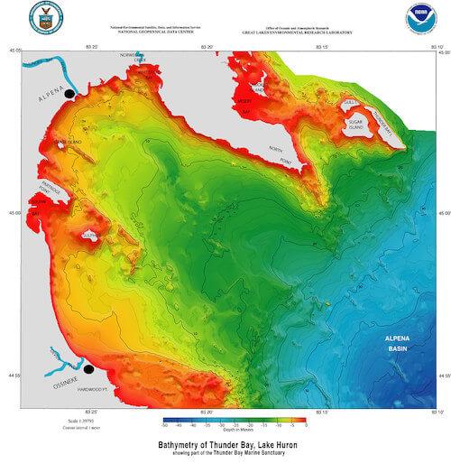 An environmental map
