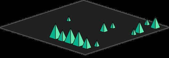 GIS map layer vegetation