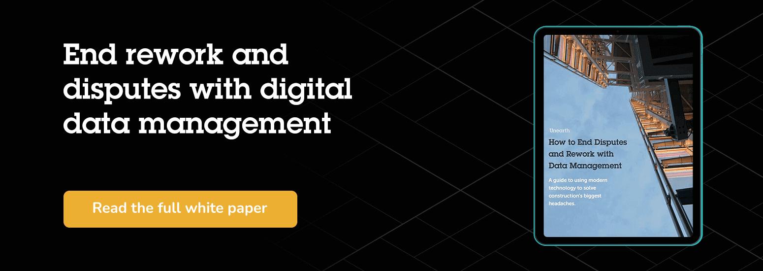 Digital data management white paper
