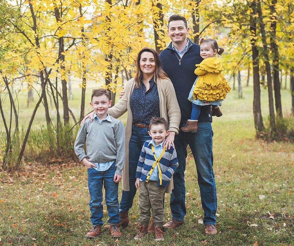 Dr Matt Calkins Family