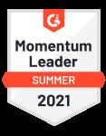 G2 badge momentum leader