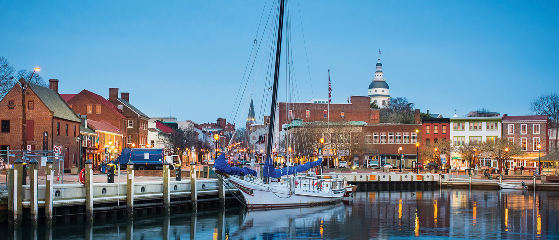 waterfront edge in the great city of Annapolis Maryland