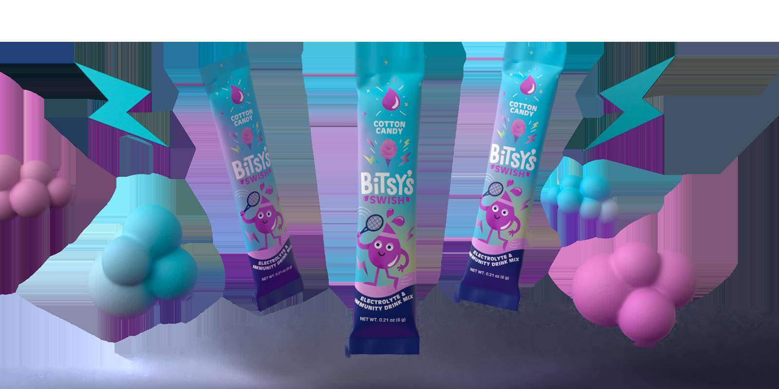 Bitsy's Swish Cotton Candy