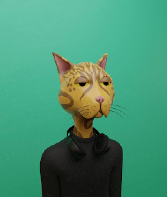 Lazy Crypto Cat