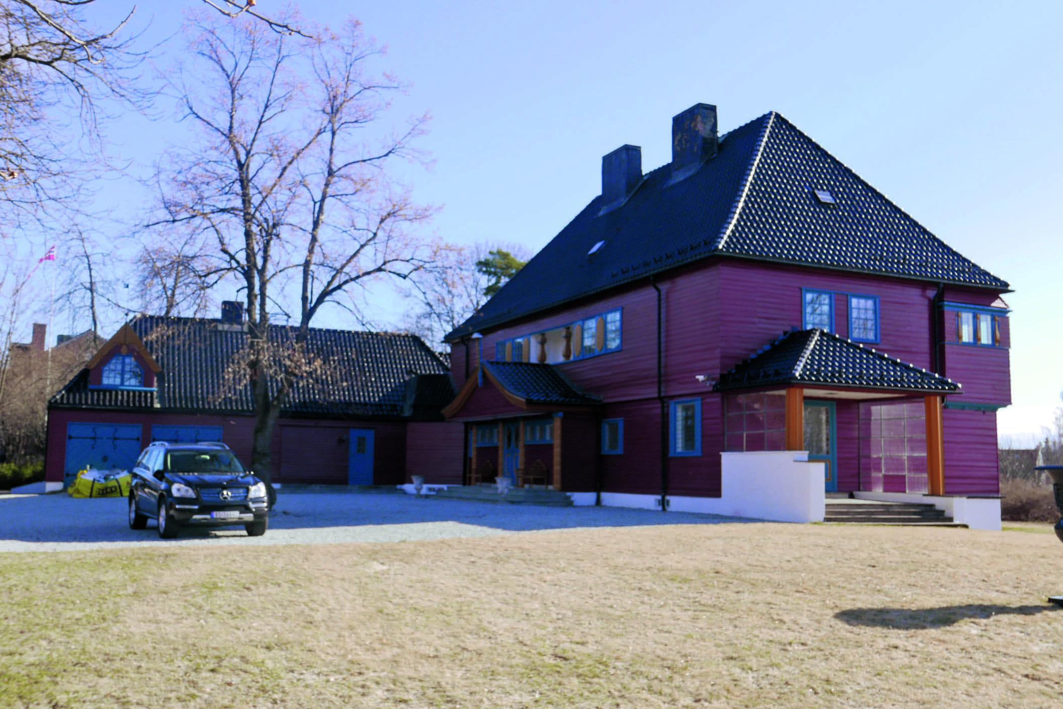 Villa i Husebyveien 8 i Aker for skipsreder Ole Røed Thoresen.