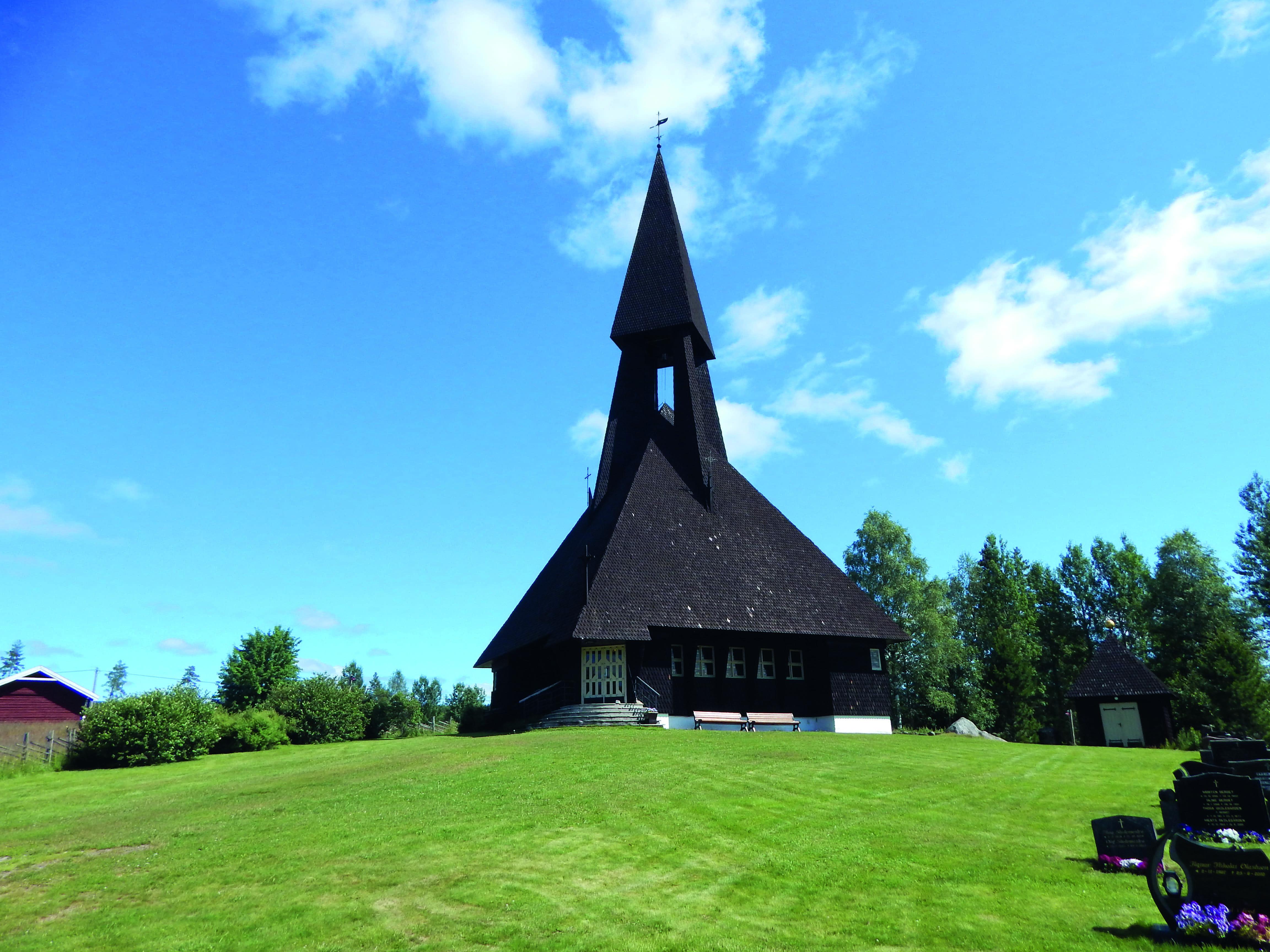 Gravberget kirke i Våler.