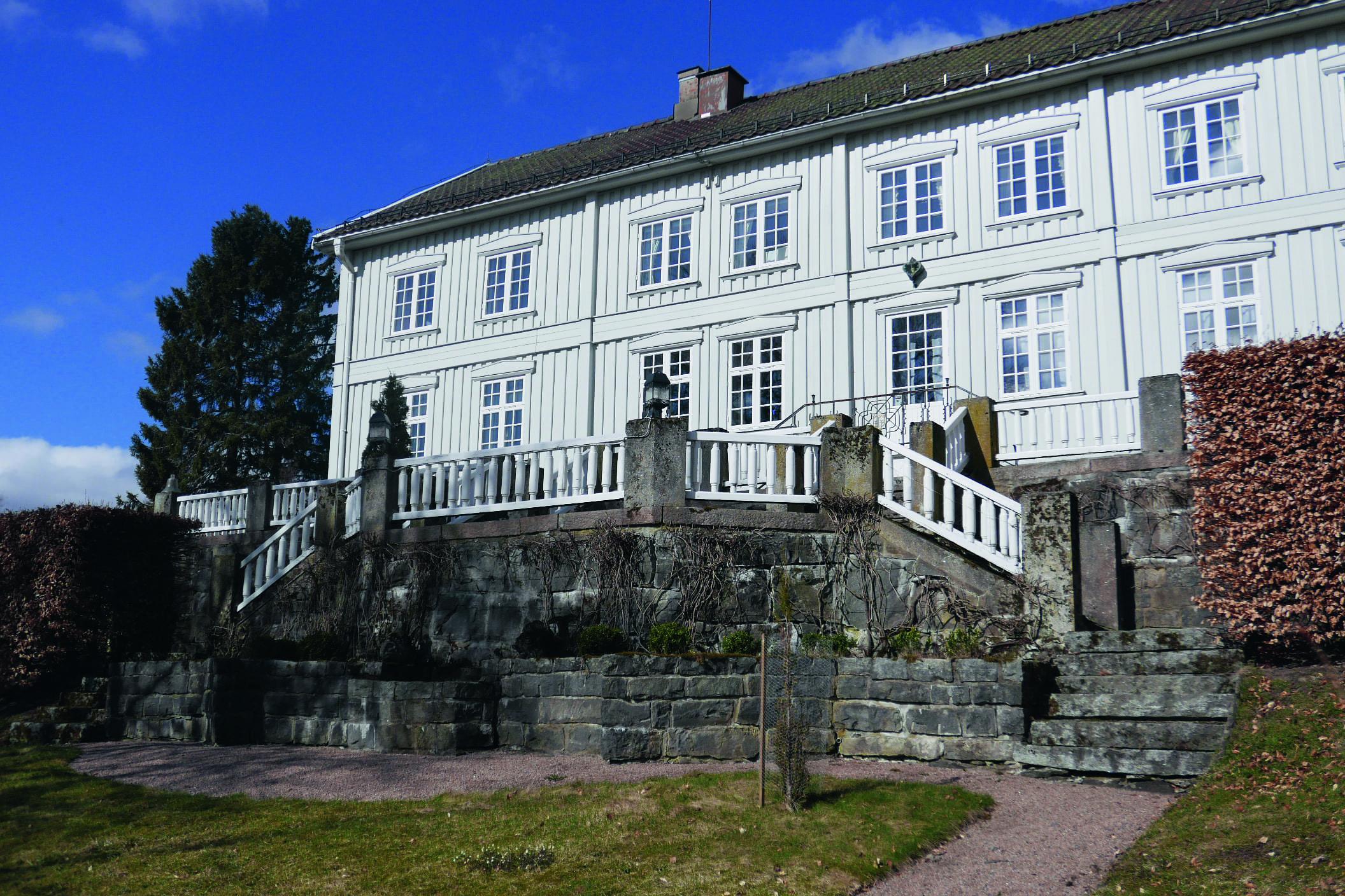 Ekeberg gård i Enebakk for skipsreder Anton Fredrik Klaveness.