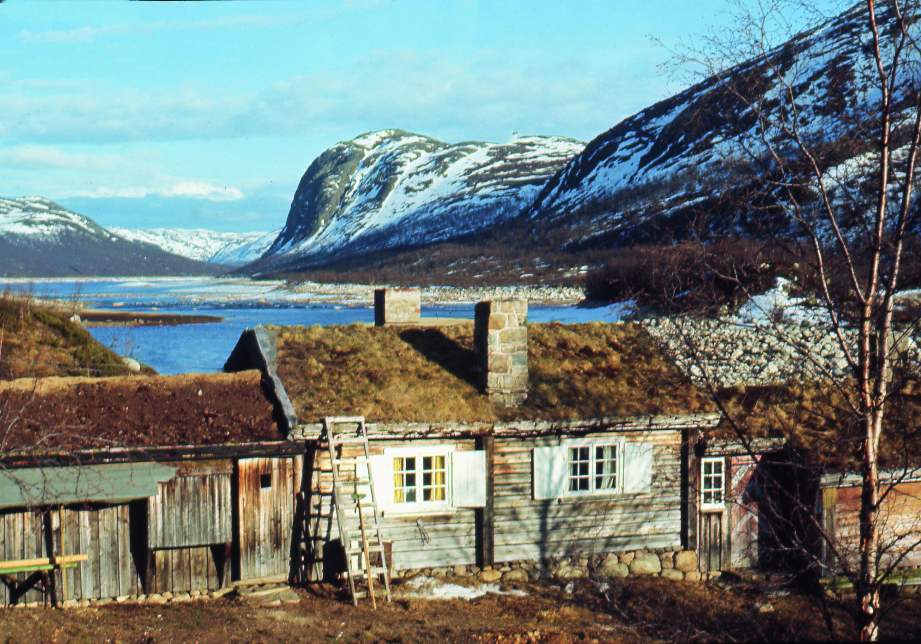 Magnus Poulssons eget paradis Breskeroe ved Møsvann nær Hardangervidda.