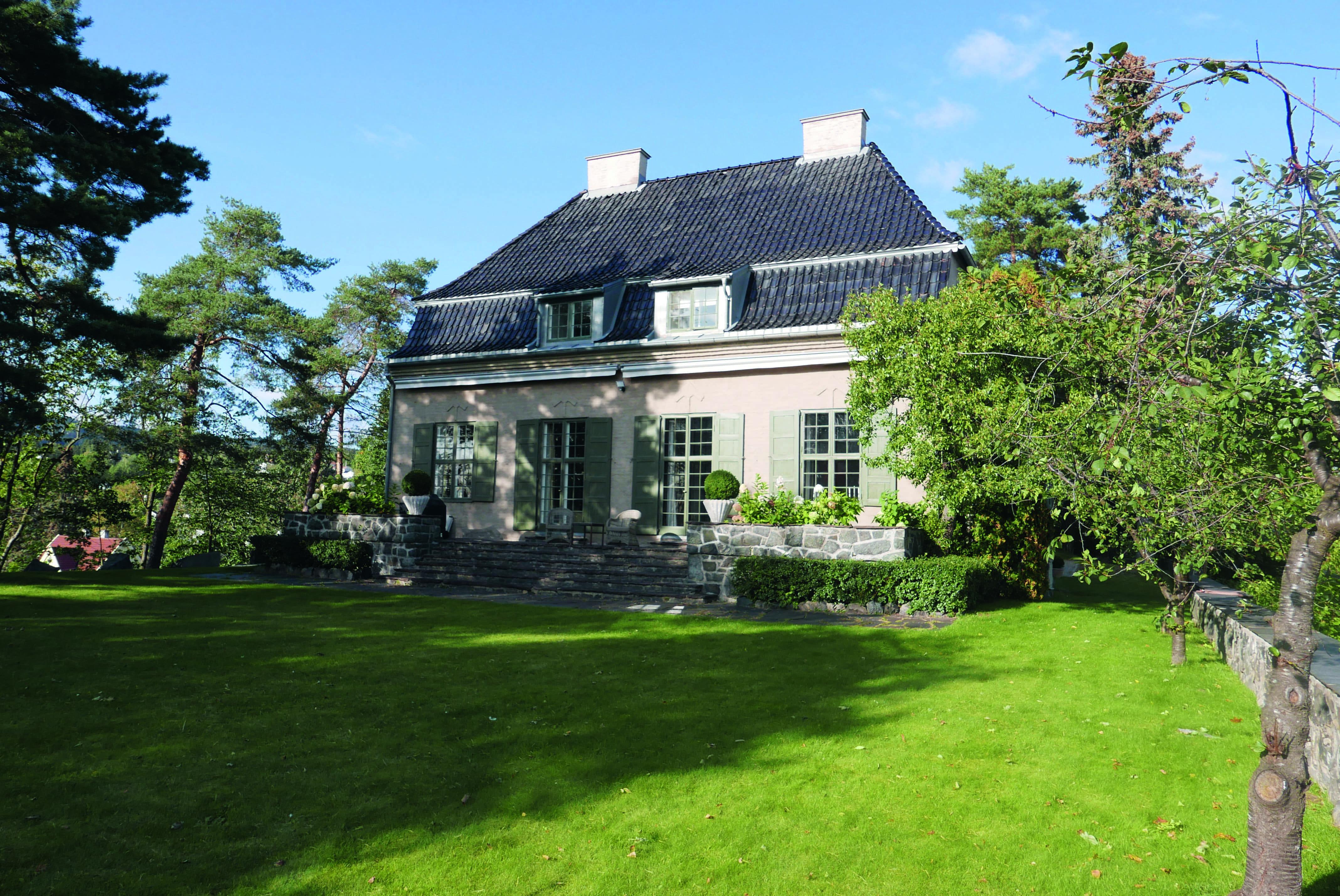 Villa i Ivar Aasens vei 32 på Vinderen i Aker.