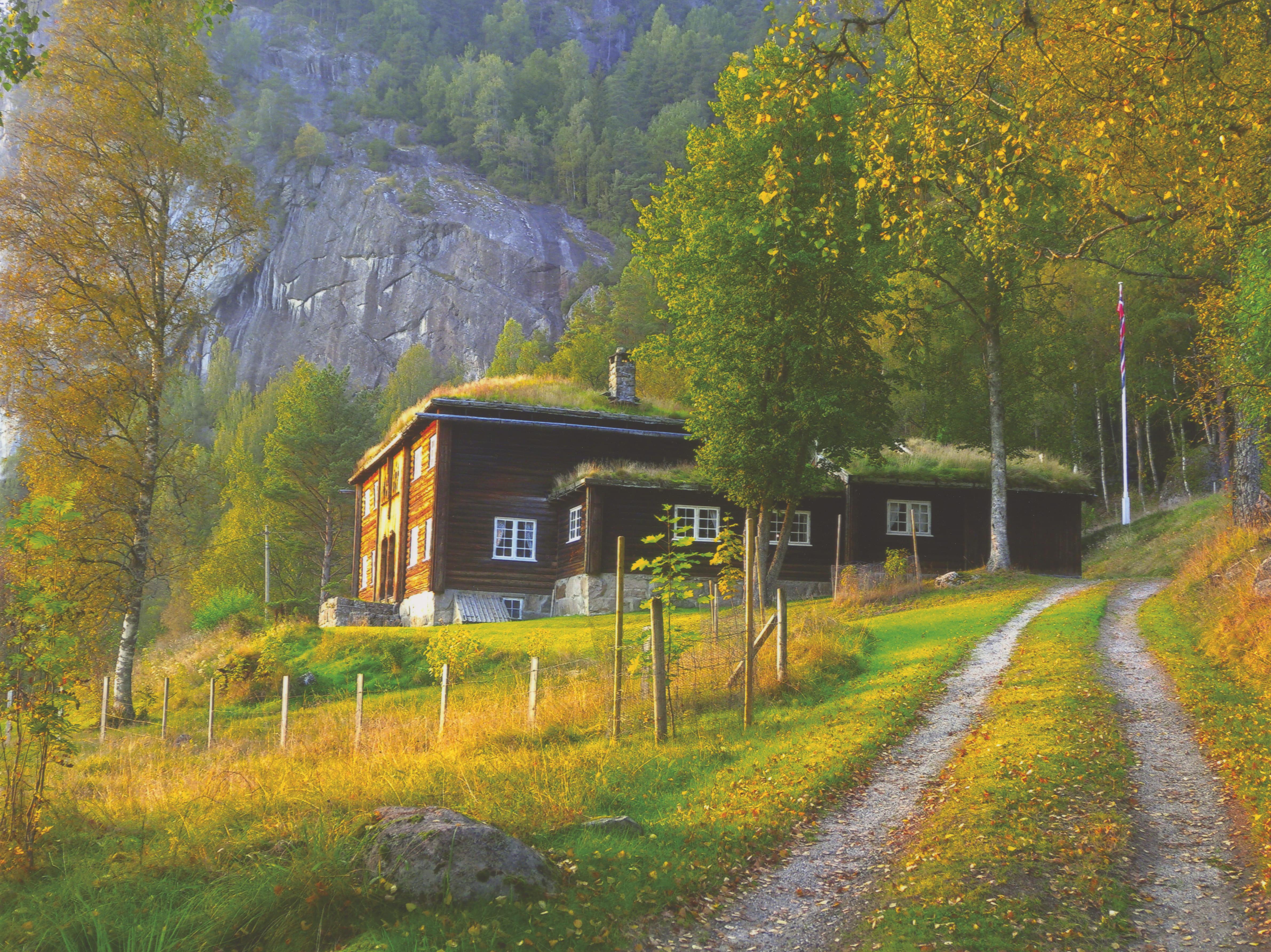 Jaktvilla på Bjørgum i Setesdal for skipsreder Emil Stray.
