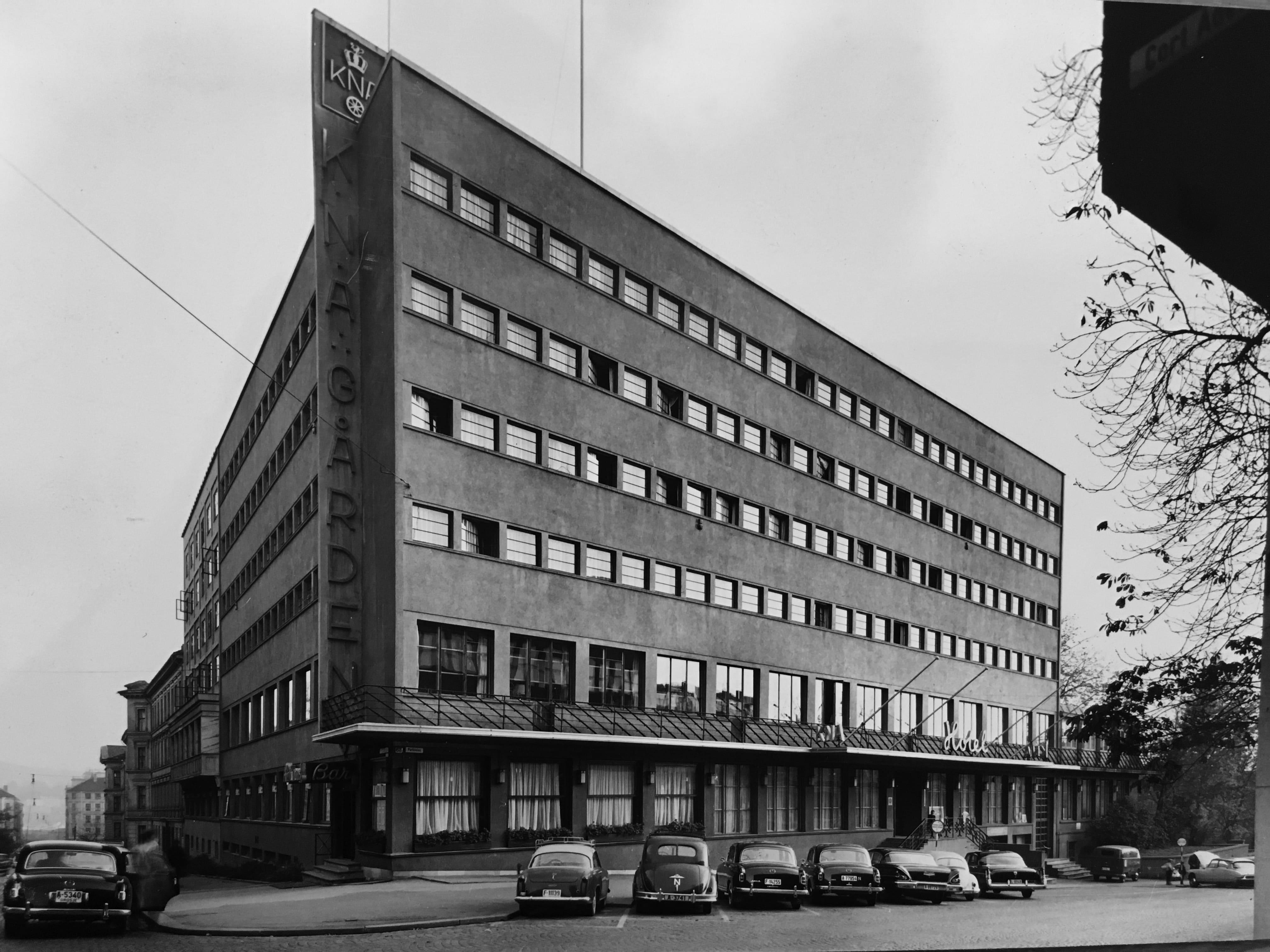 Forretningsgård og hotell for Kongelig Norsk Automobilklub.