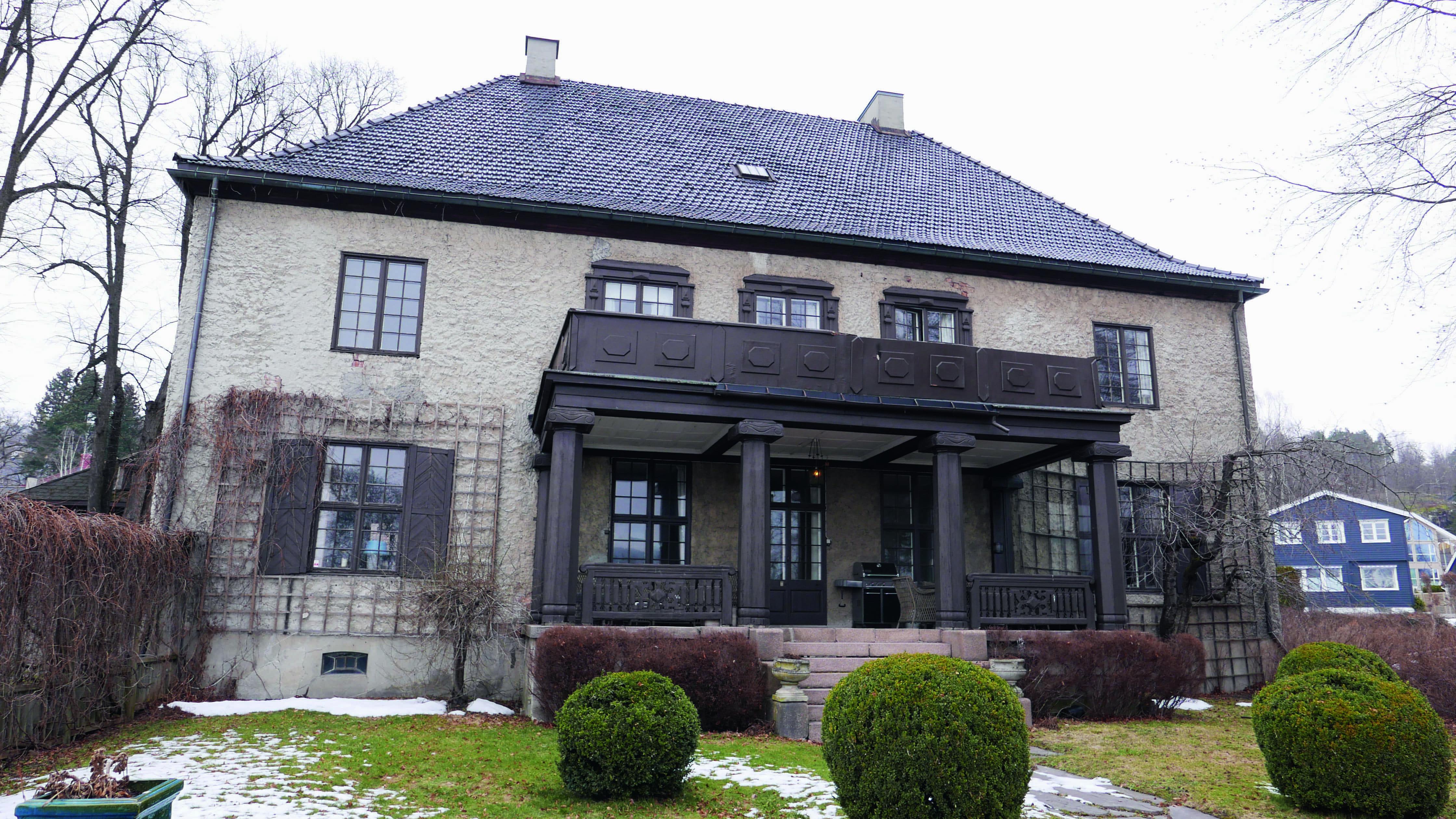 Villa i Drammen.