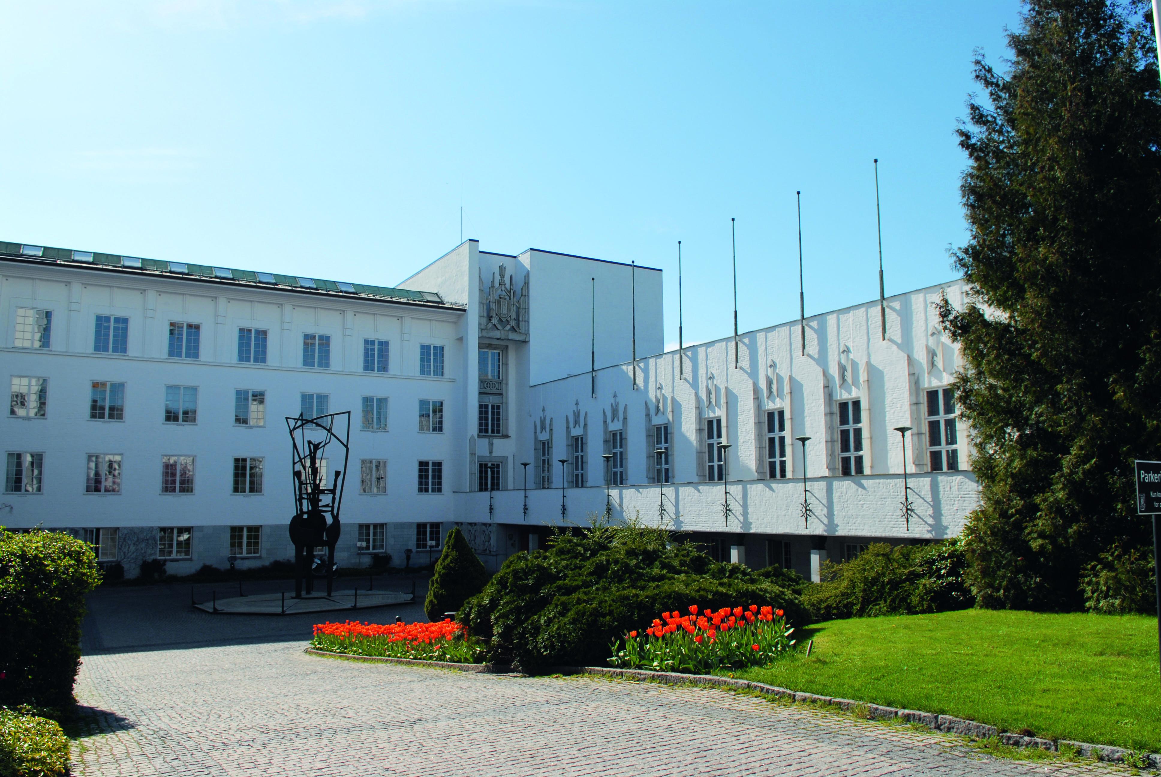 Rådhus i Sandvika for Bærum kommune.