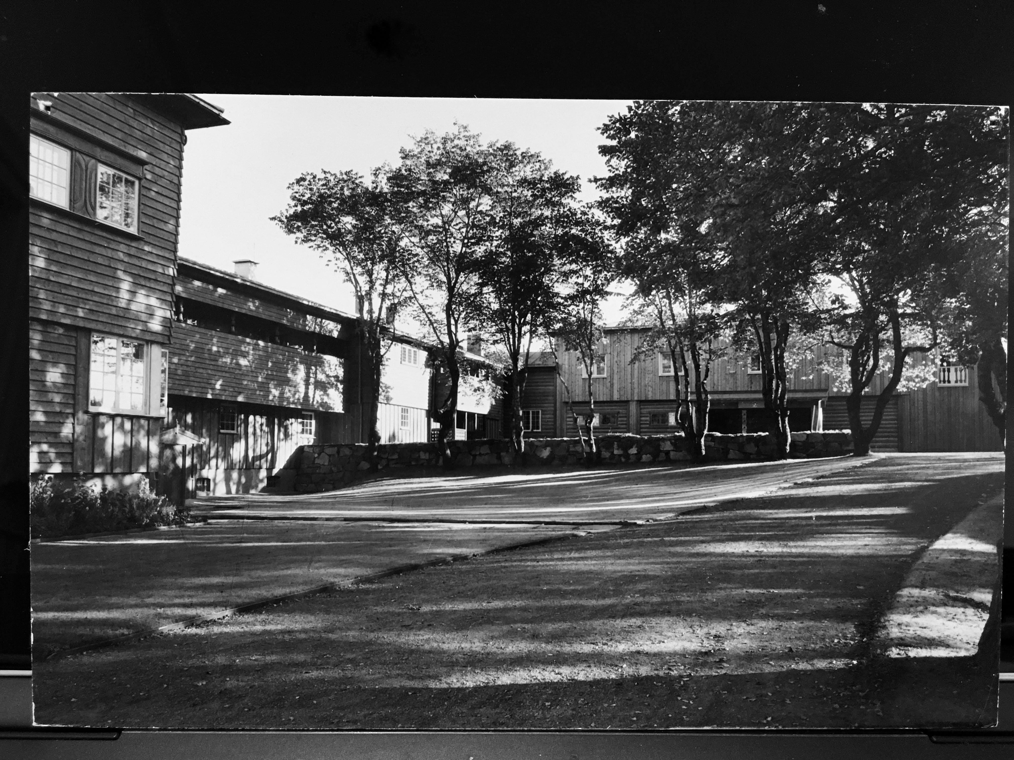 Hovedbygning på Toresplassen ved Sollihøgda på Krokskogen.