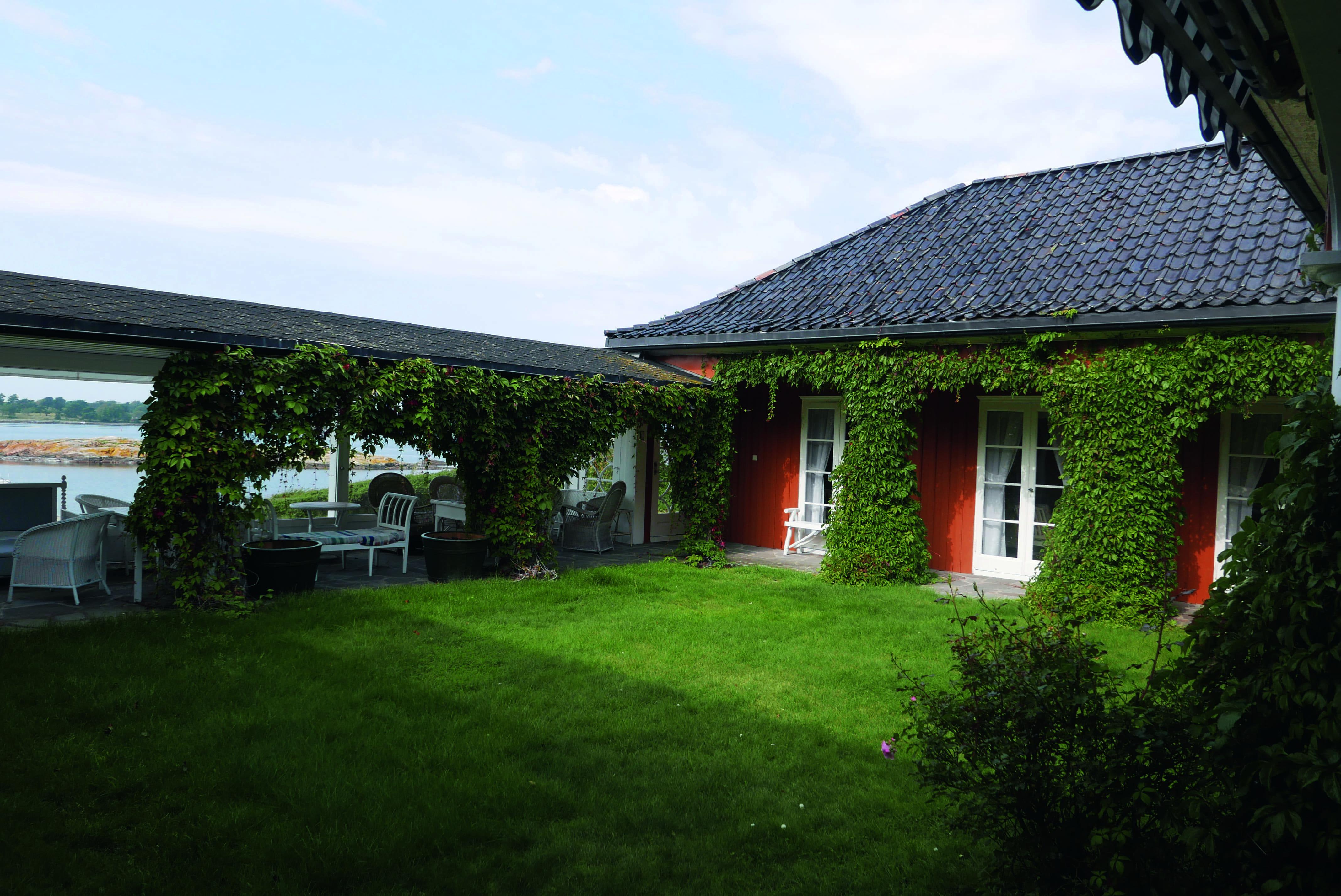 Sommerhus ved Larkollen.