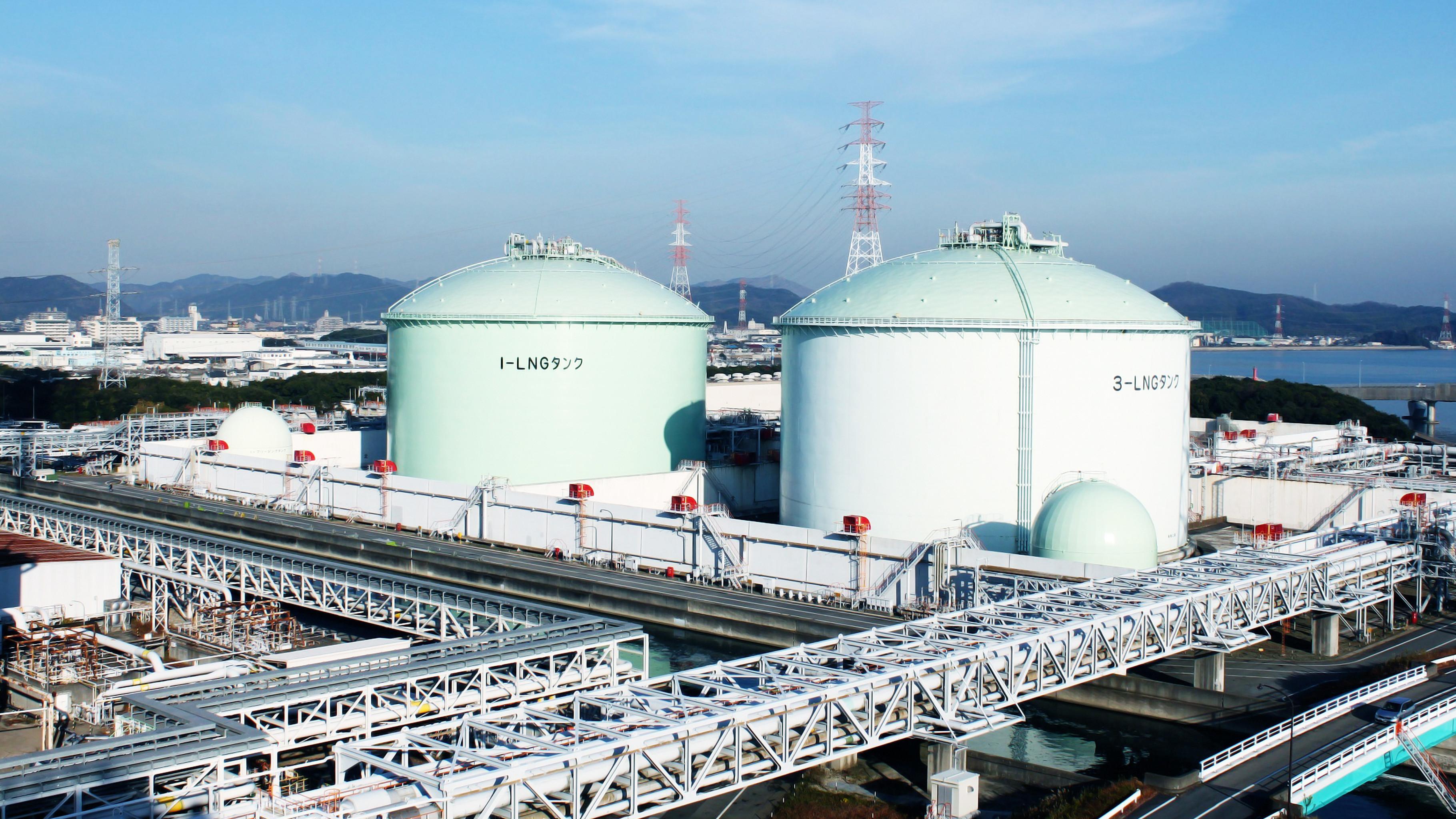 液化天然ガス基地の運用効率化