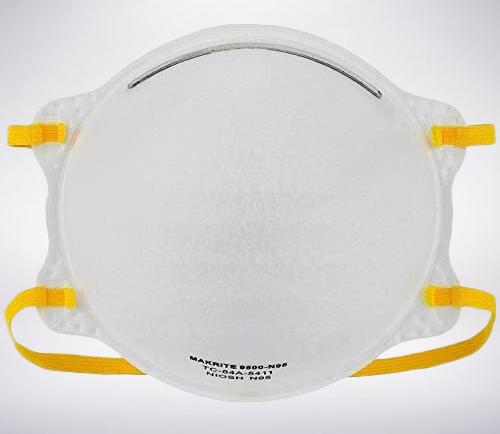 Makrite 9500 Series - N95 Disposable Respirator (NIOSH APPROVED)