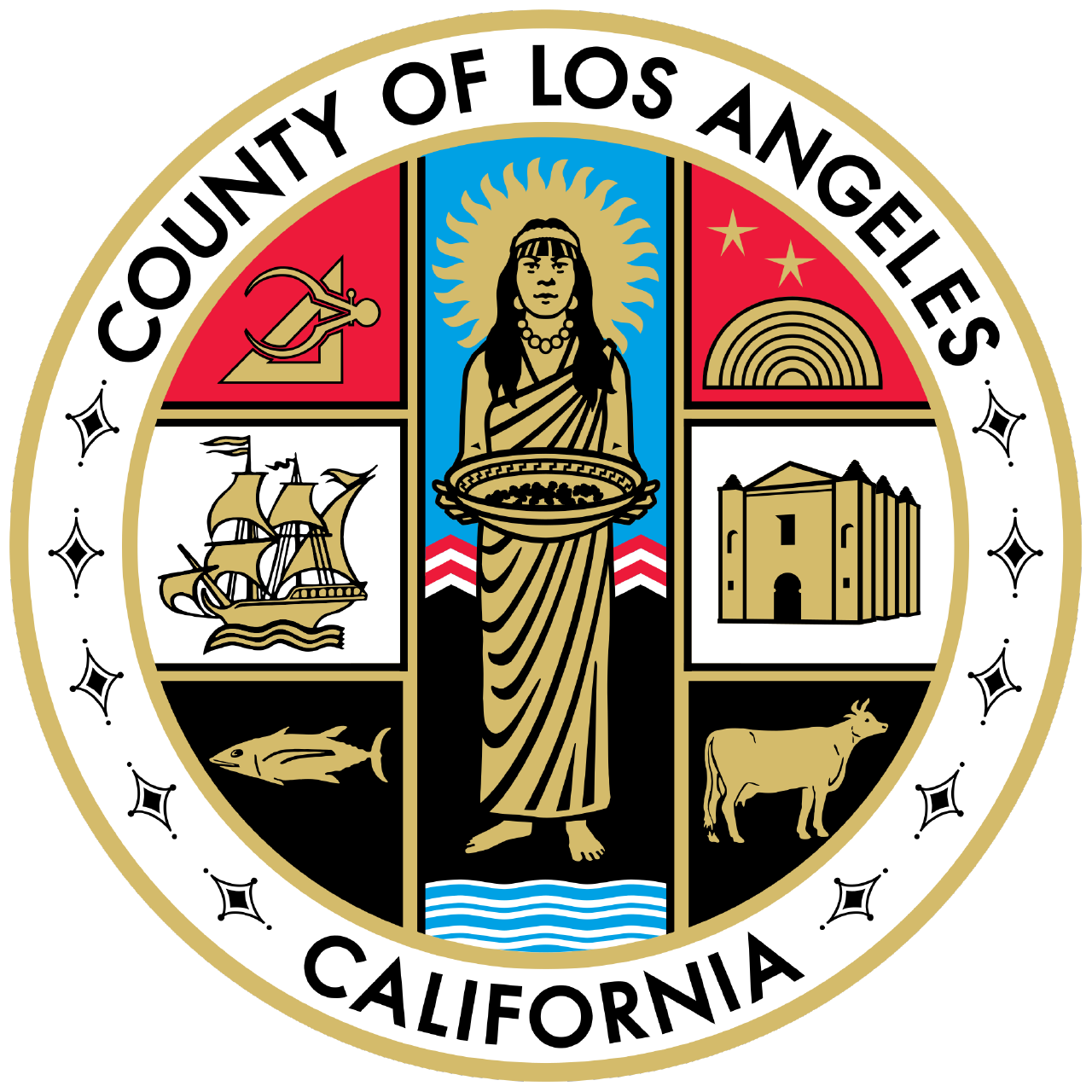 Seal of County of  Los Angeles