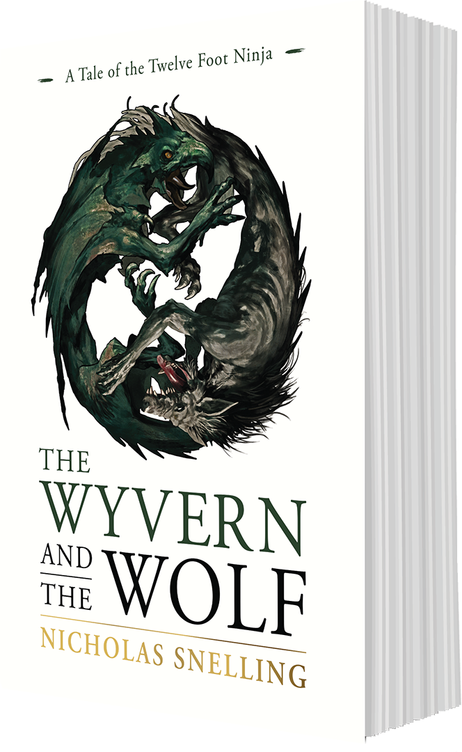 Wyvern and the Wolf Book Cover