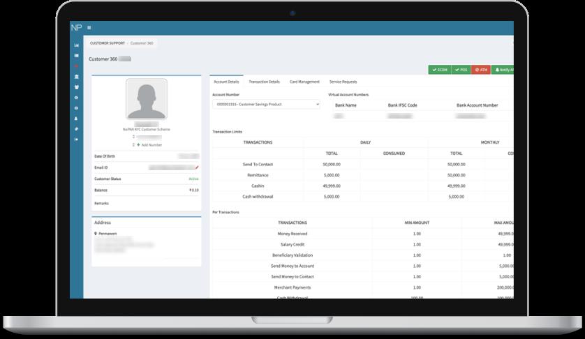 Customer management portal
