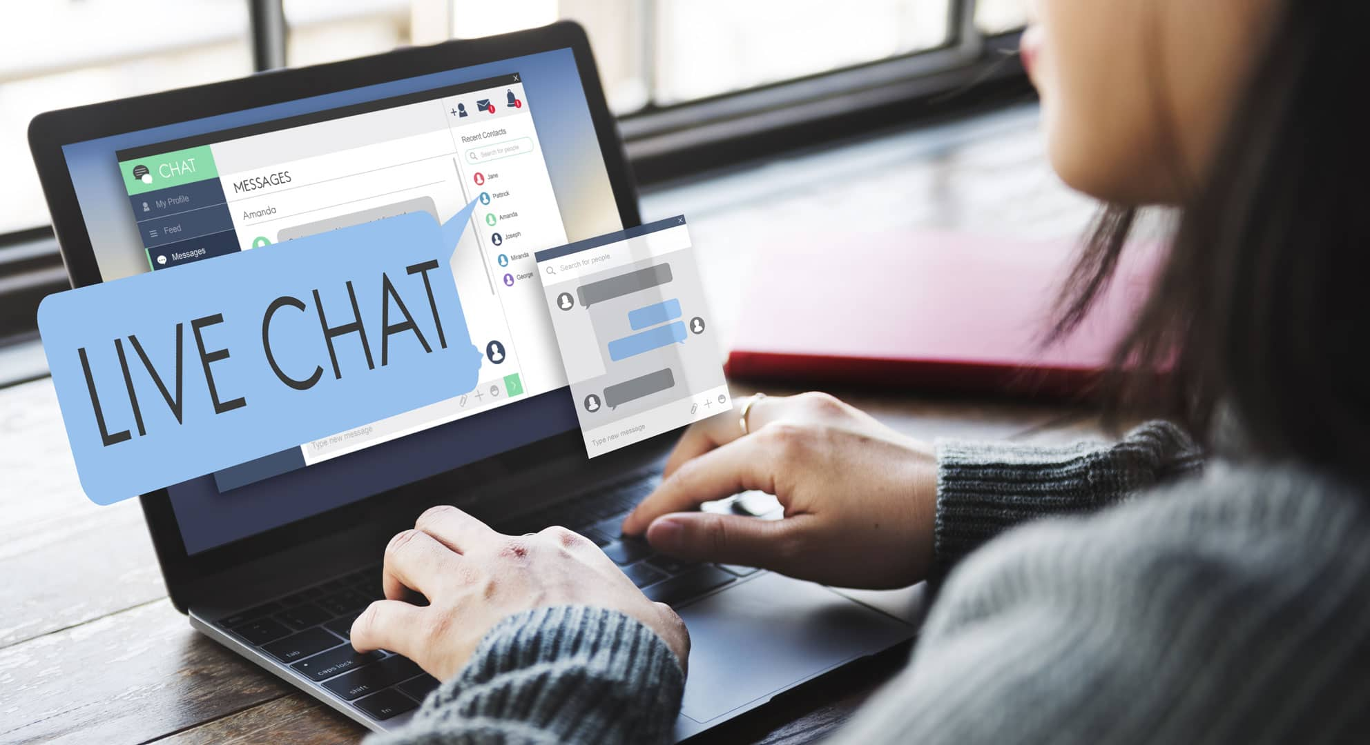 Live chat sector