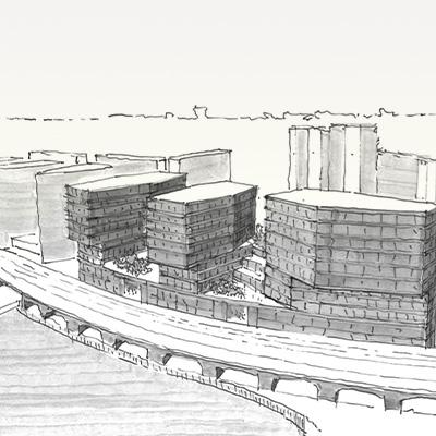 Architektur-Kachel