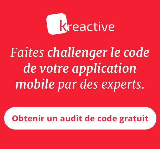 Banner audit de code mobile