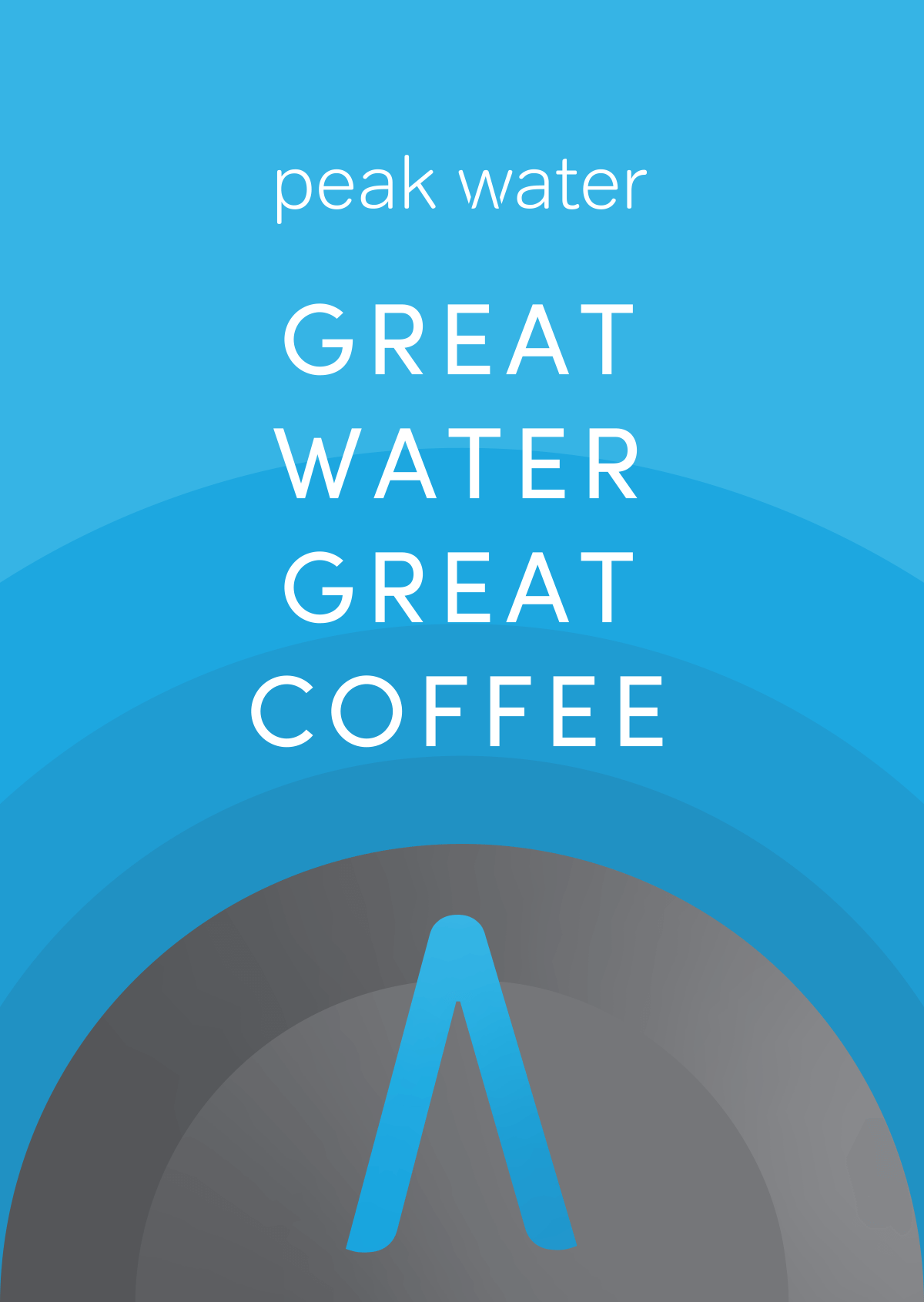 An early Peak Water postcard design
