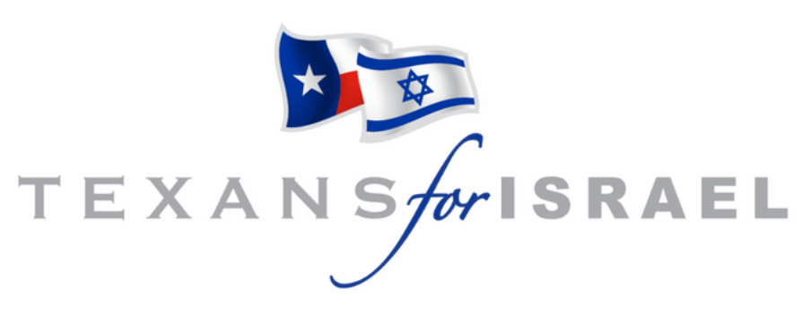 Texans For Israel Banner