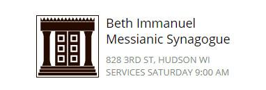 Beth Immanuel Messianic Synagogue