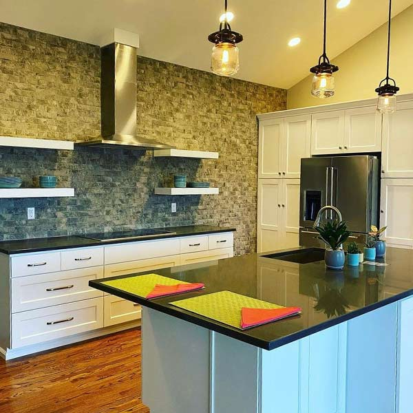 Kitchen cleaned by Joyful Haven Cleaning
