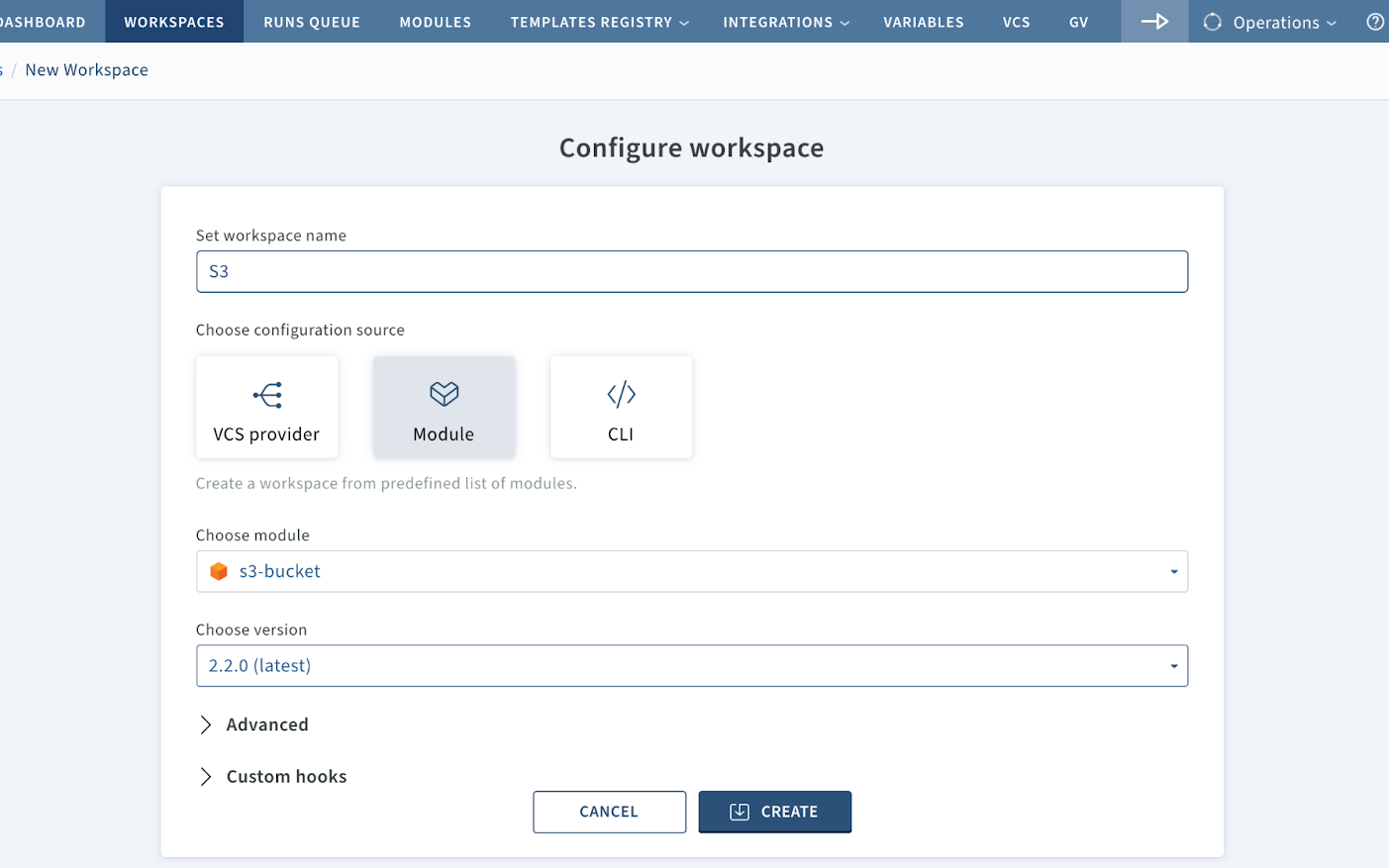 New Feature: How To Deploy Terraform Modules From A Service Catalog