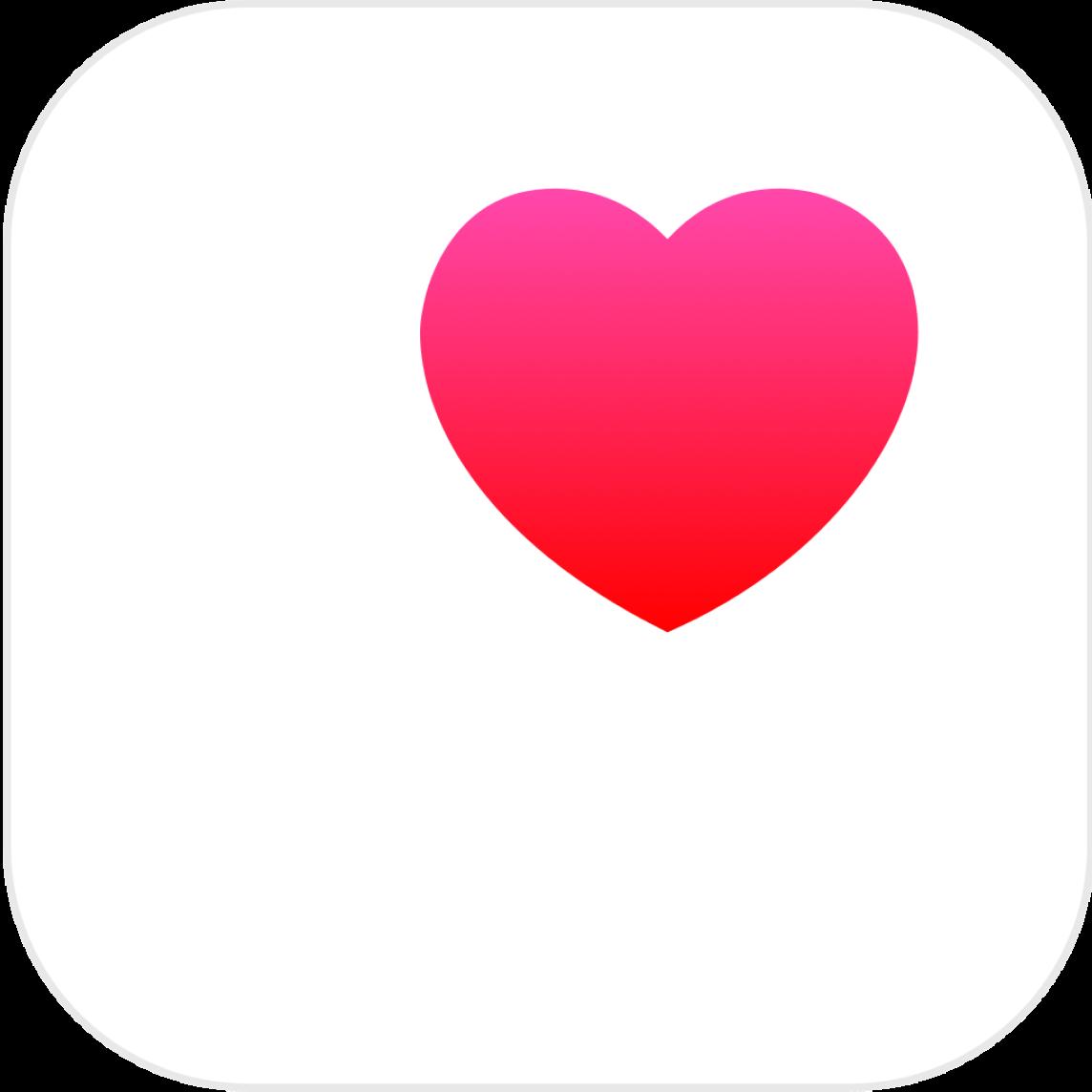 logo de l'app apple health