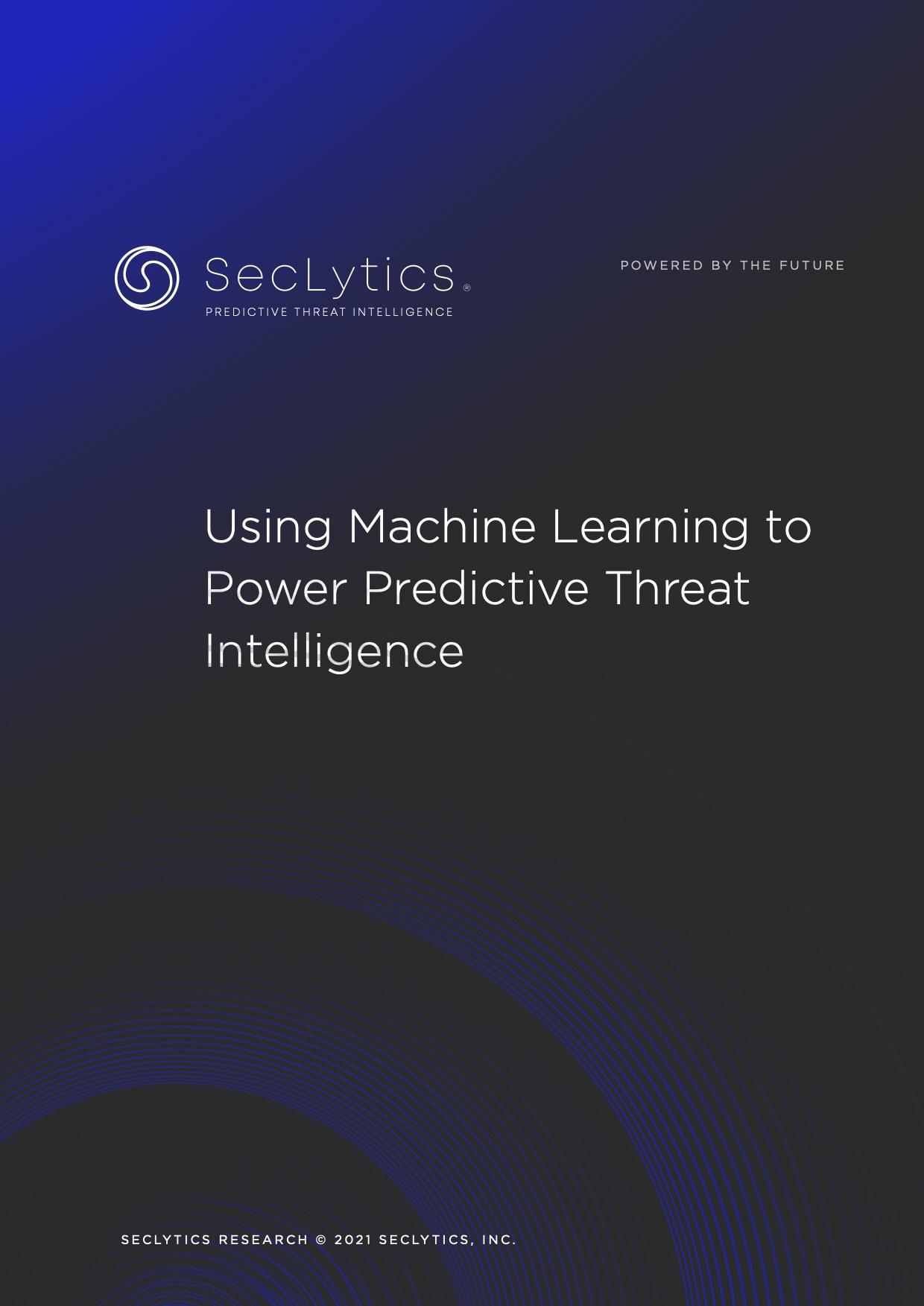Augur: Real Predictive Threat Intelligence