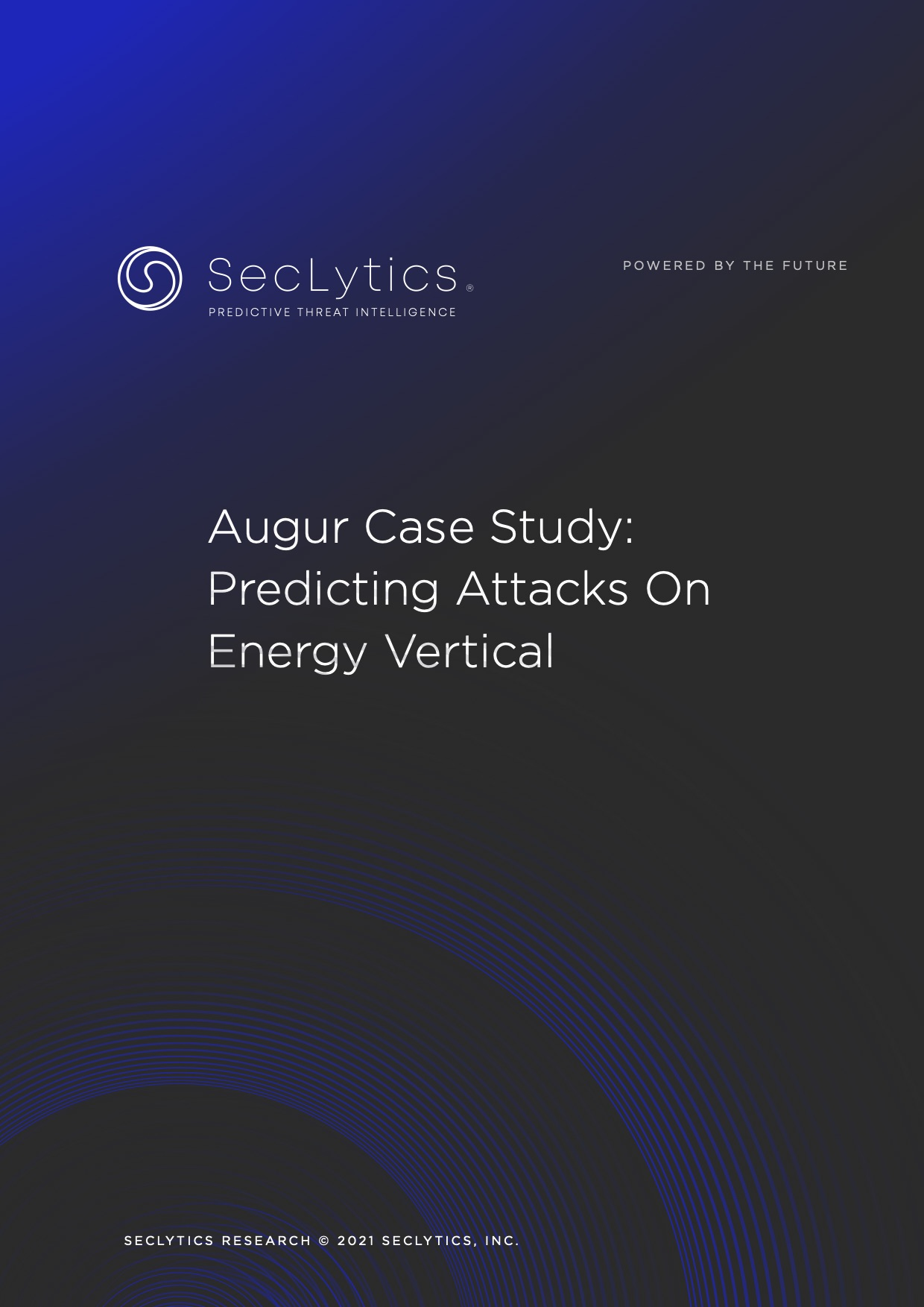 Predicting Attacks on Energy Vertical